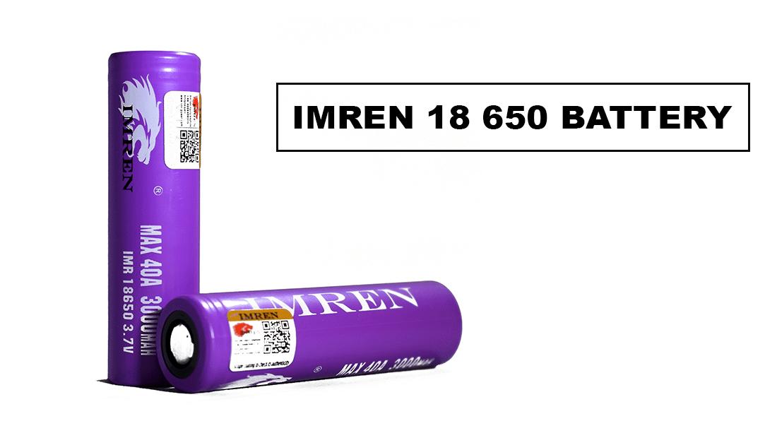 IMREN 18650 batteries | Cloudtheorem