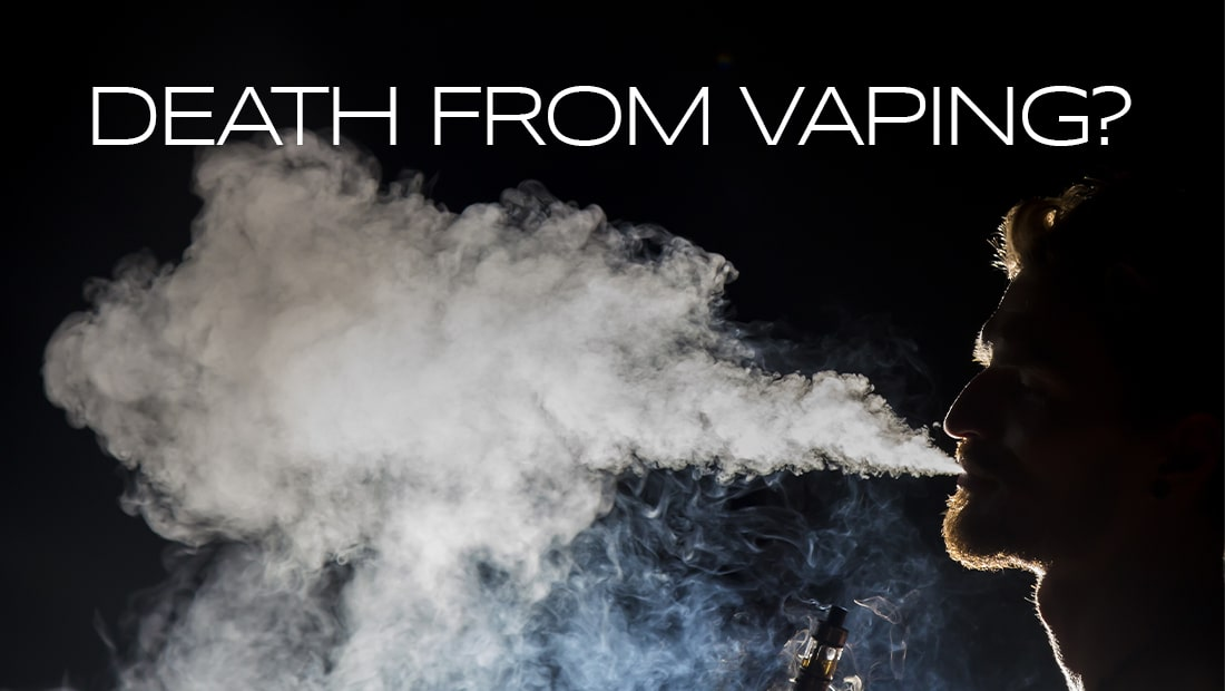 death from vaping?
