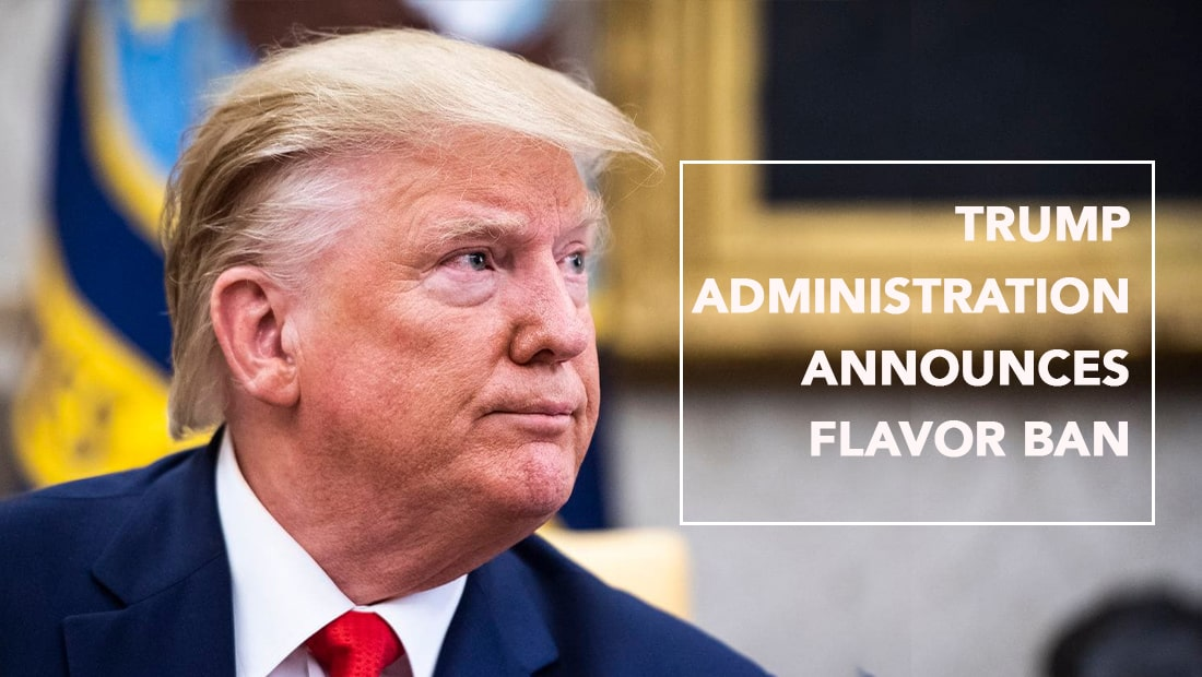 Trump administration media Flavor Ban | Cloudtheorem