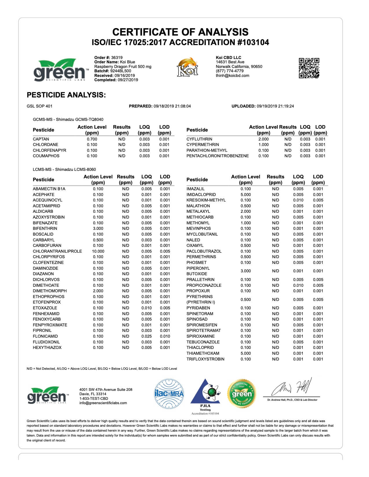 Koi CBD Blue Raspberry Dragon Fruit 500mg page3