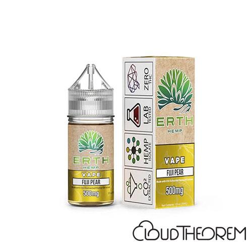 ERTH Hemp Fuji Pear CBD Vape Juice
