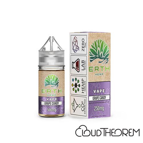 ERTH Hemp Grape Candy CBD Vape Juice