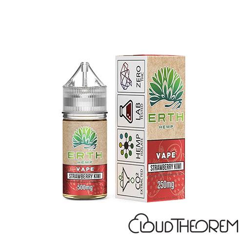 ERTH Hemp Strawberry Kiwi CBD Vape Juice