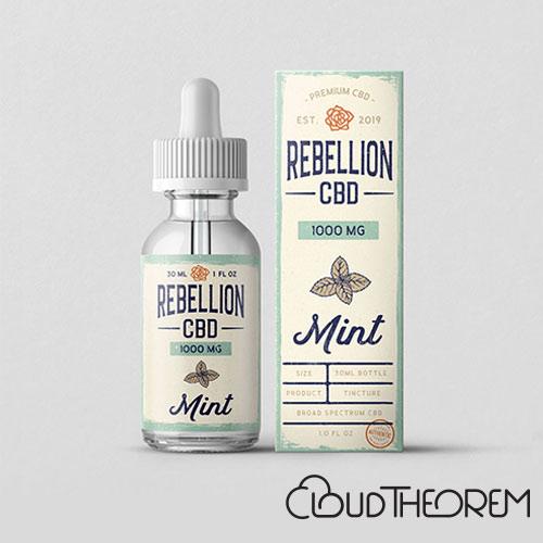 REBELLION CBD Mint Tincture