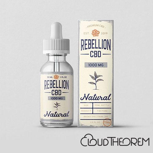 REBELLION CBD Natural Tincture