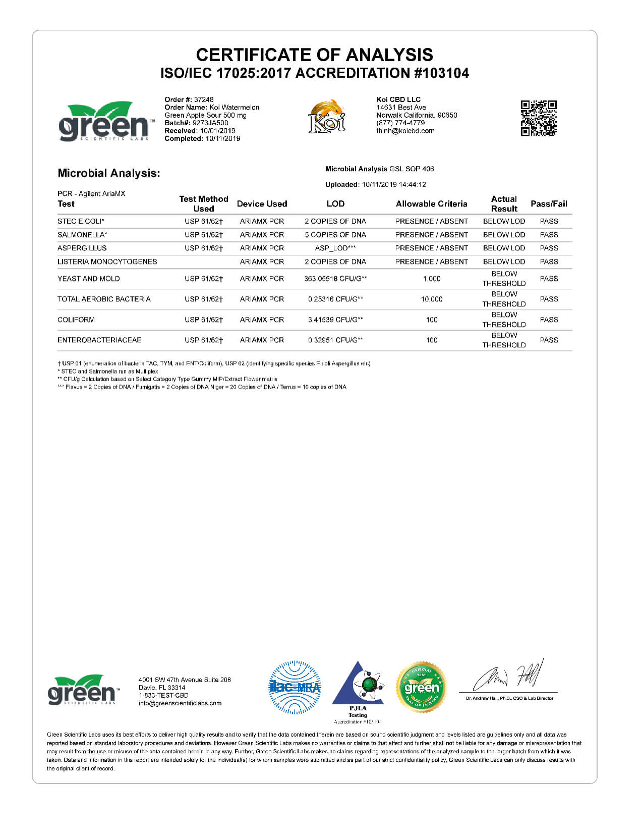 Koi CBD Watermelon Green Apple Sour Vape Oil 500mg page5