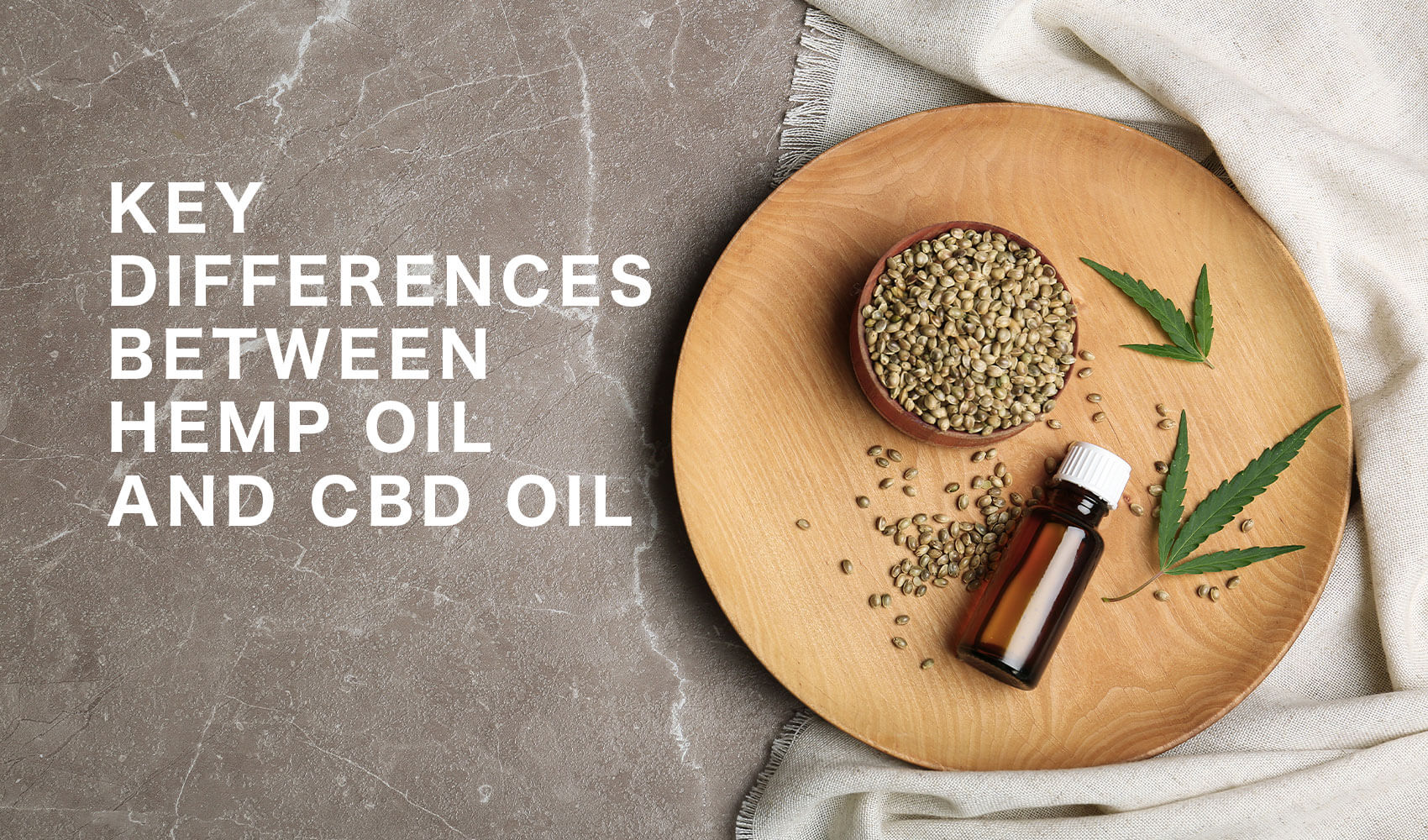 Hemp Oil vs CBD Oil Key Differences | Cloudtheorem