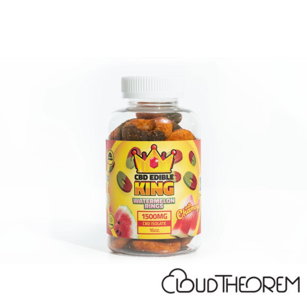 CBD Edible King Watermelon Rings Chamoy