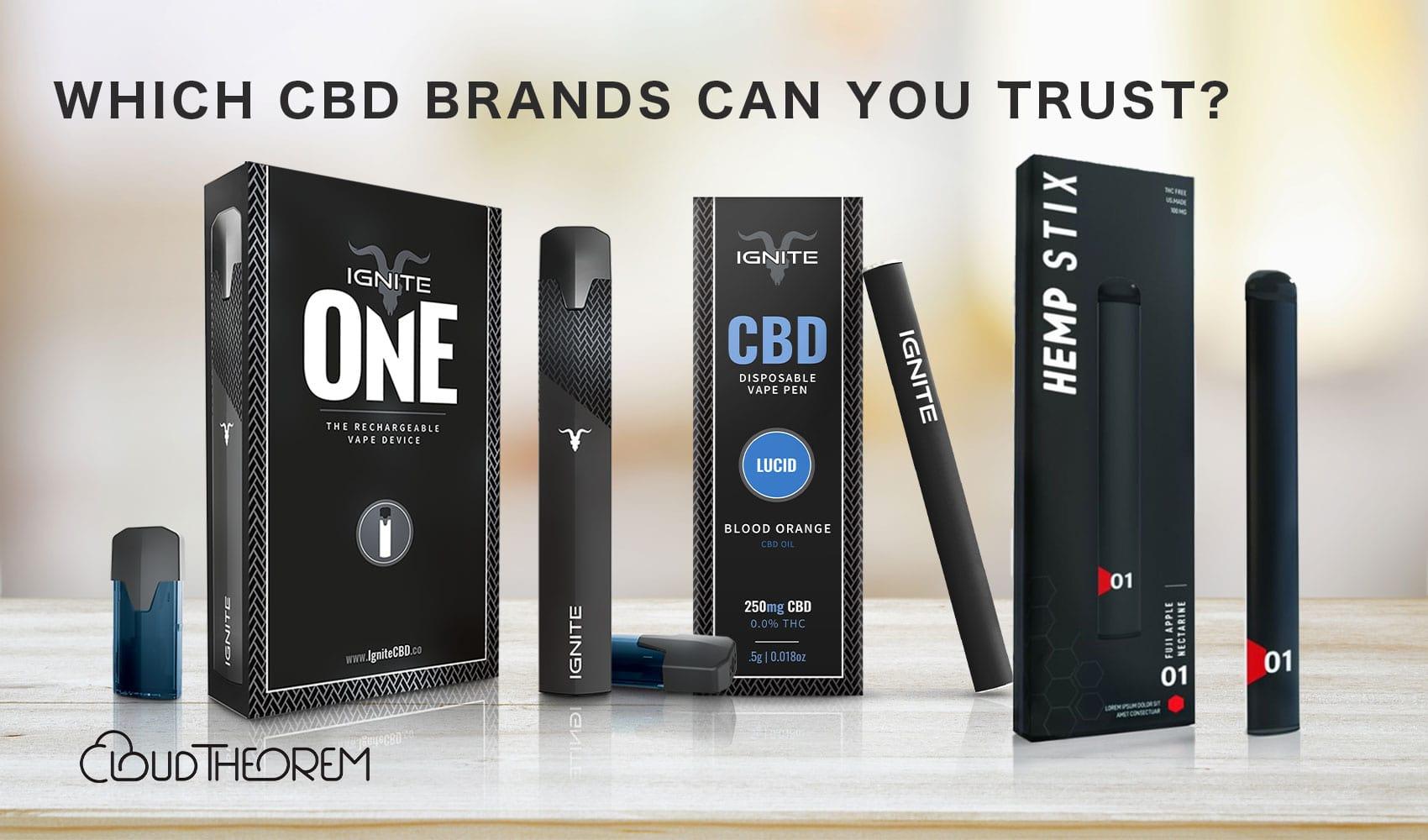 Which CBD brands can you trust?   Cloudtheorem