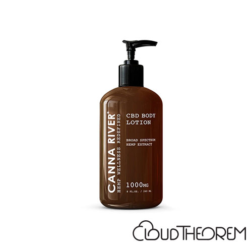 CANNA RIVER CBD Broad Spectrum Daily Body Lotion Lab Report