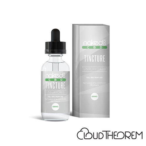 NAKED 100 CBD Unflavored Tincture Lab Report