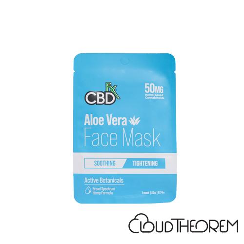 CBDfx Broad Spectrum CBD Aloe Vera Face Mask Lab Report