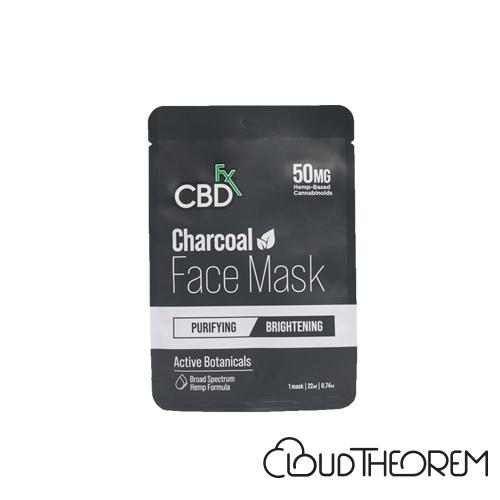 CBDfx Broad Spectrum CBD Charcoal Face Mask Lab Report