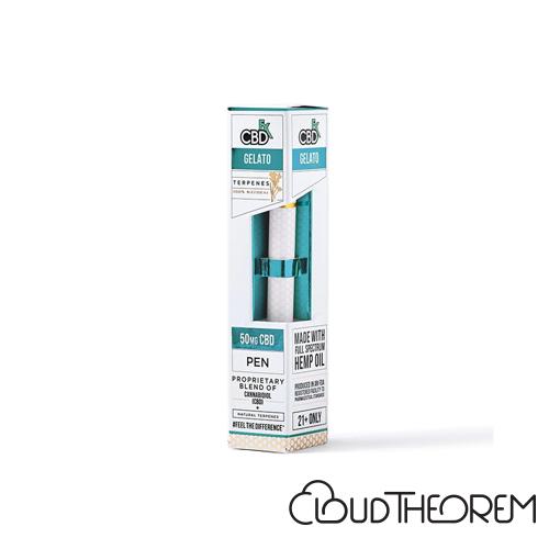 CBDfx Gelato CBD Terpenes Vape Pen Lab Report
