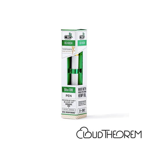CBDfx OG Kush CBD Terpenes Vape Pen Lab Report