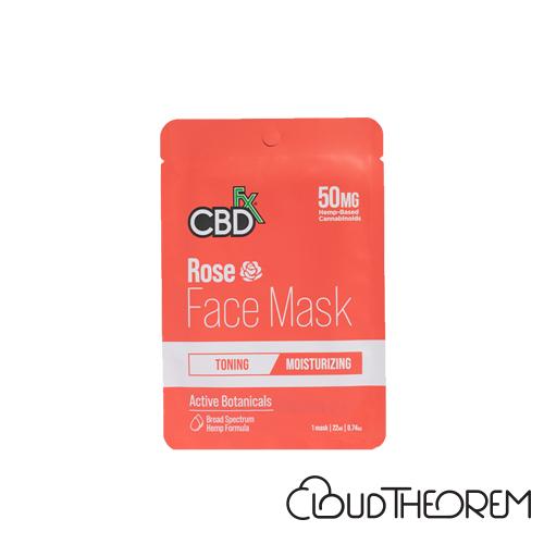 CBDfx Broad Spectrum CBD Rose Face Mask Lab Report