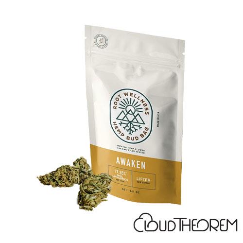 Root Wellness Hemp Awaken Bud Bag 4g Lab Report