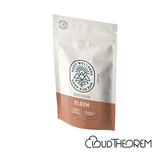 Root Wellness Hemp Bloom Bud Bag 4g Lab Report