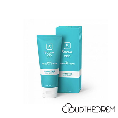 Social CBD Foot Renewal Cream Lab Report