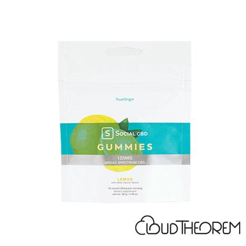 Social CBD Gummies Lemon Broad Spectrum Lab Report