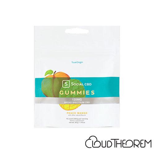 Social CBD Gummies Peach Mango Broad Spectrum Lab Report