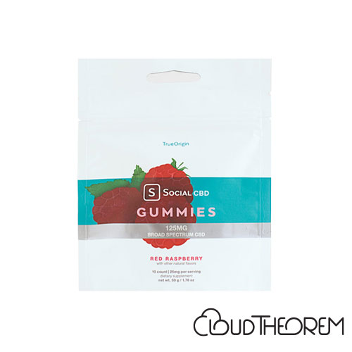 Social CBD Gummies Red Raspberry Broad Spectrum Lab Report