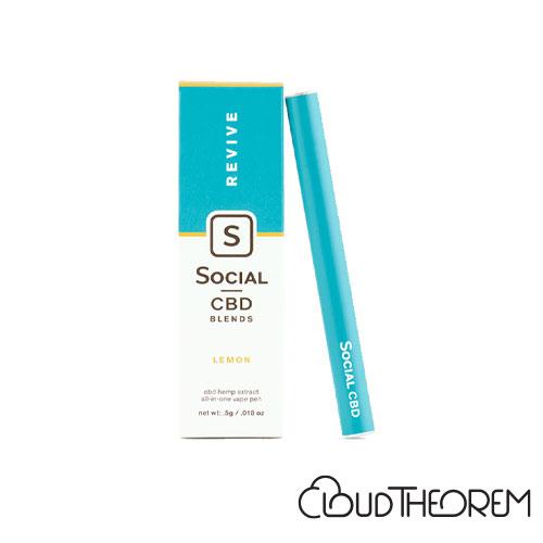 Social CBD Vape Pen Revive Lemon Lab Report