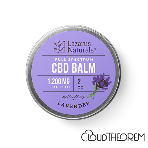 Lazarus Naturals CBD Balm Lavender Lab Report