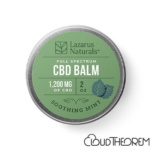 Lazarus Naturals CBD Balm Soothing Mint Lab Report