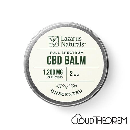 Lazarus Naturals CBD Balm Unscented Lab Report