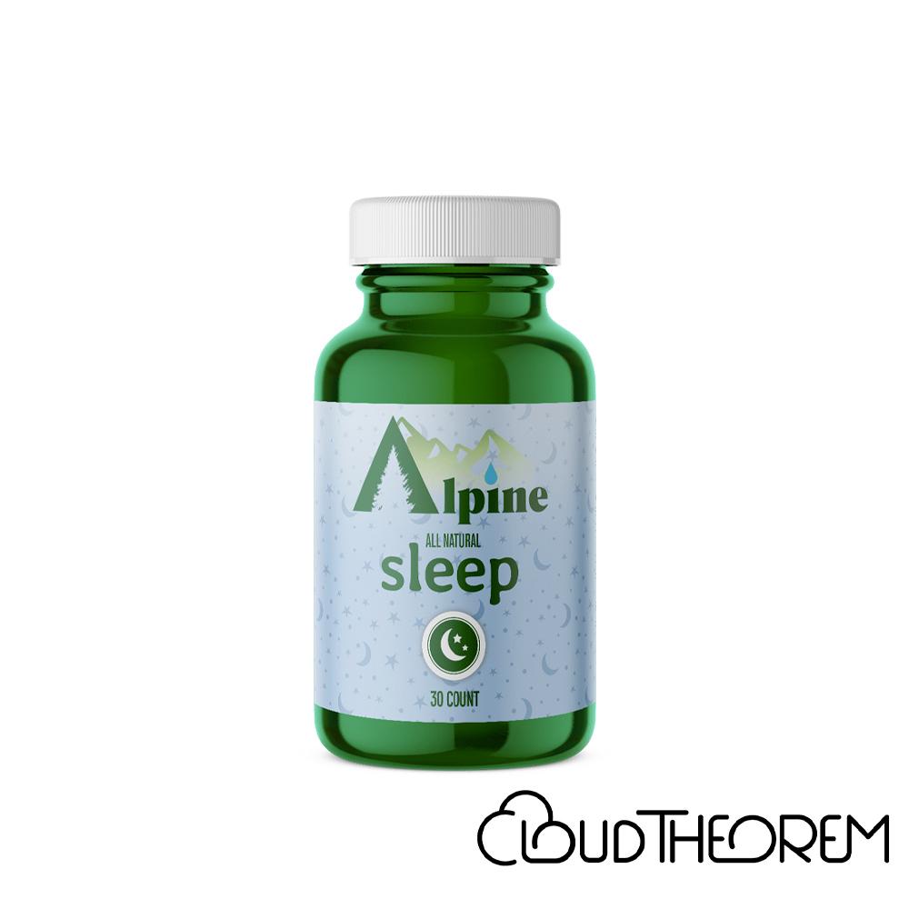 Alpine Hemp CBD Capsule Sleep Lab Report