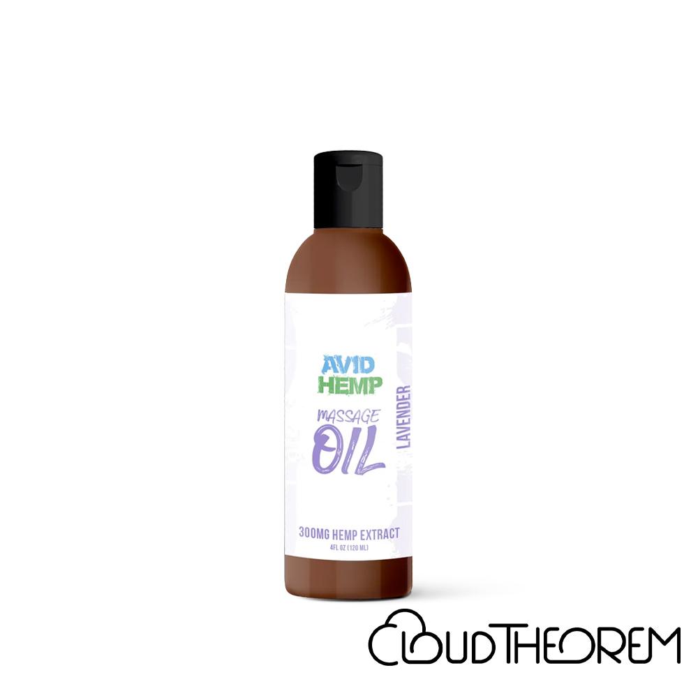 Avid Hemp CBD Topical Massage Oil Lab Report