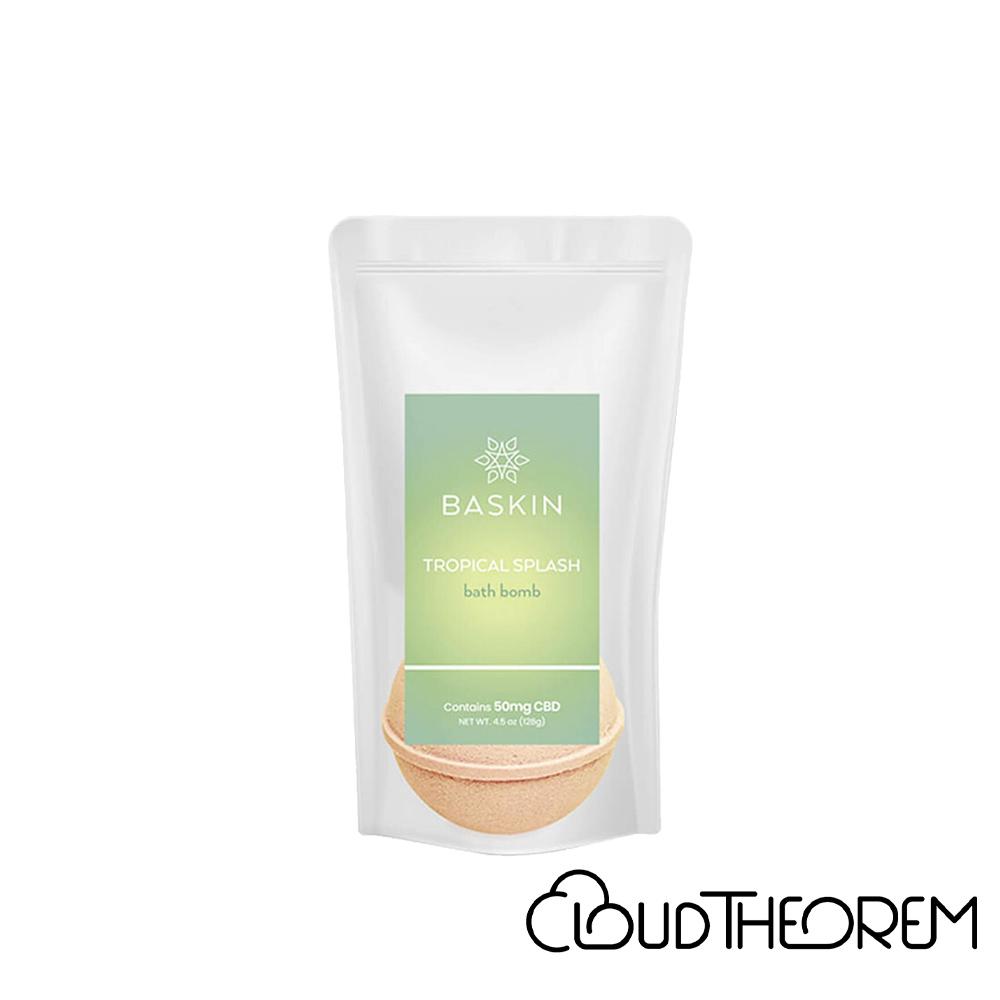 Baskin CBD Bath Tropical Splash Bath Bomb Lab Report