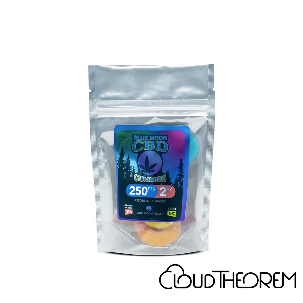 Blue Moon Hemp CBD Edible Gummies Lab Report