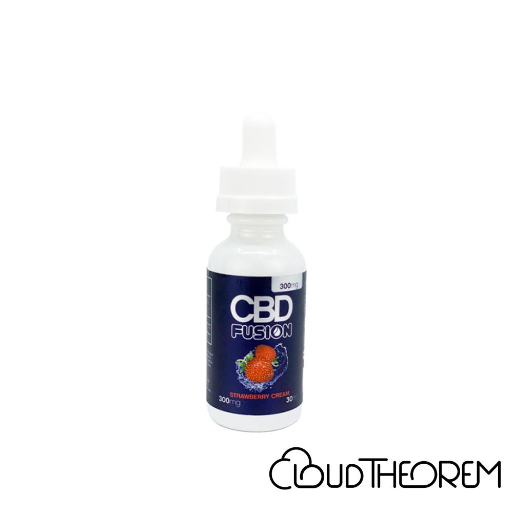 CBD Fusion CBD Vape Strawberry Cream Lab Report
