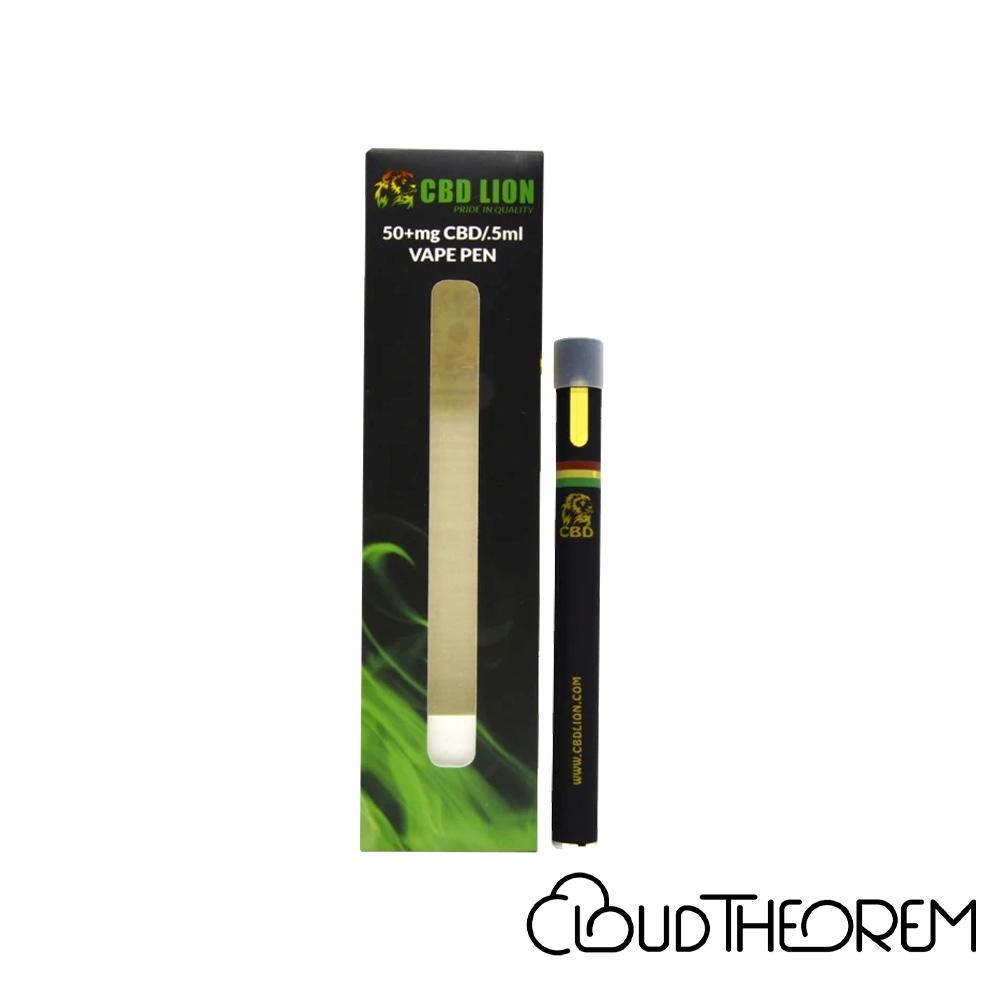 CBD Lion CBD Disposable Vape Pen Cherry Pie Lab Report