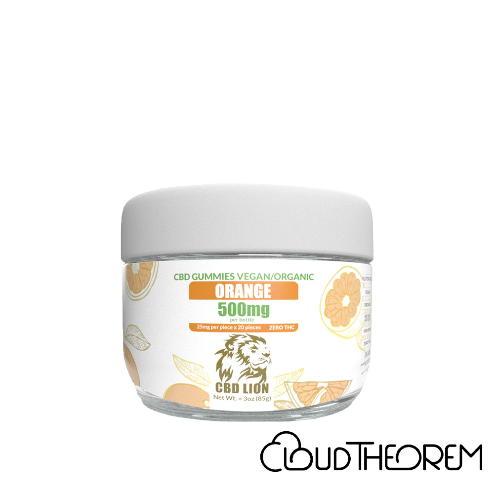 CBD Lion CBD Edible Orange Gummies Lab Report