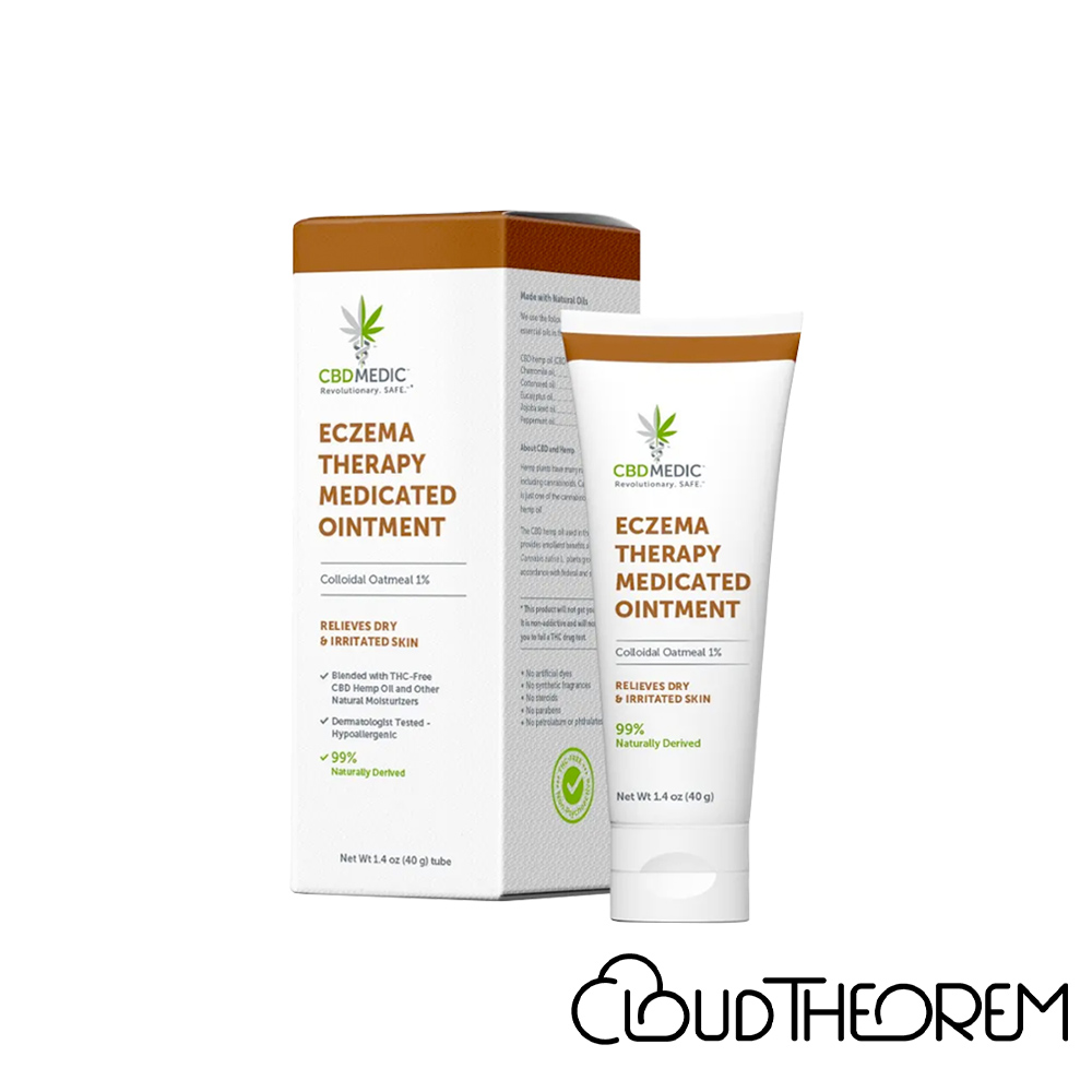 CBDMEDIC CBD Topical Eczema Therapy Medicated Ointment Lab Report