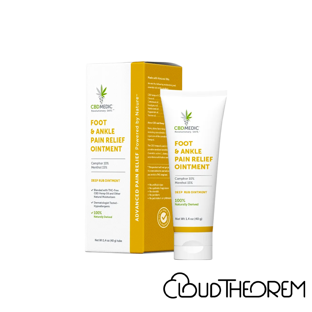 CBDMEDIC CBD Topical Foot & Ankle Pain Relief Ointment Lab Report