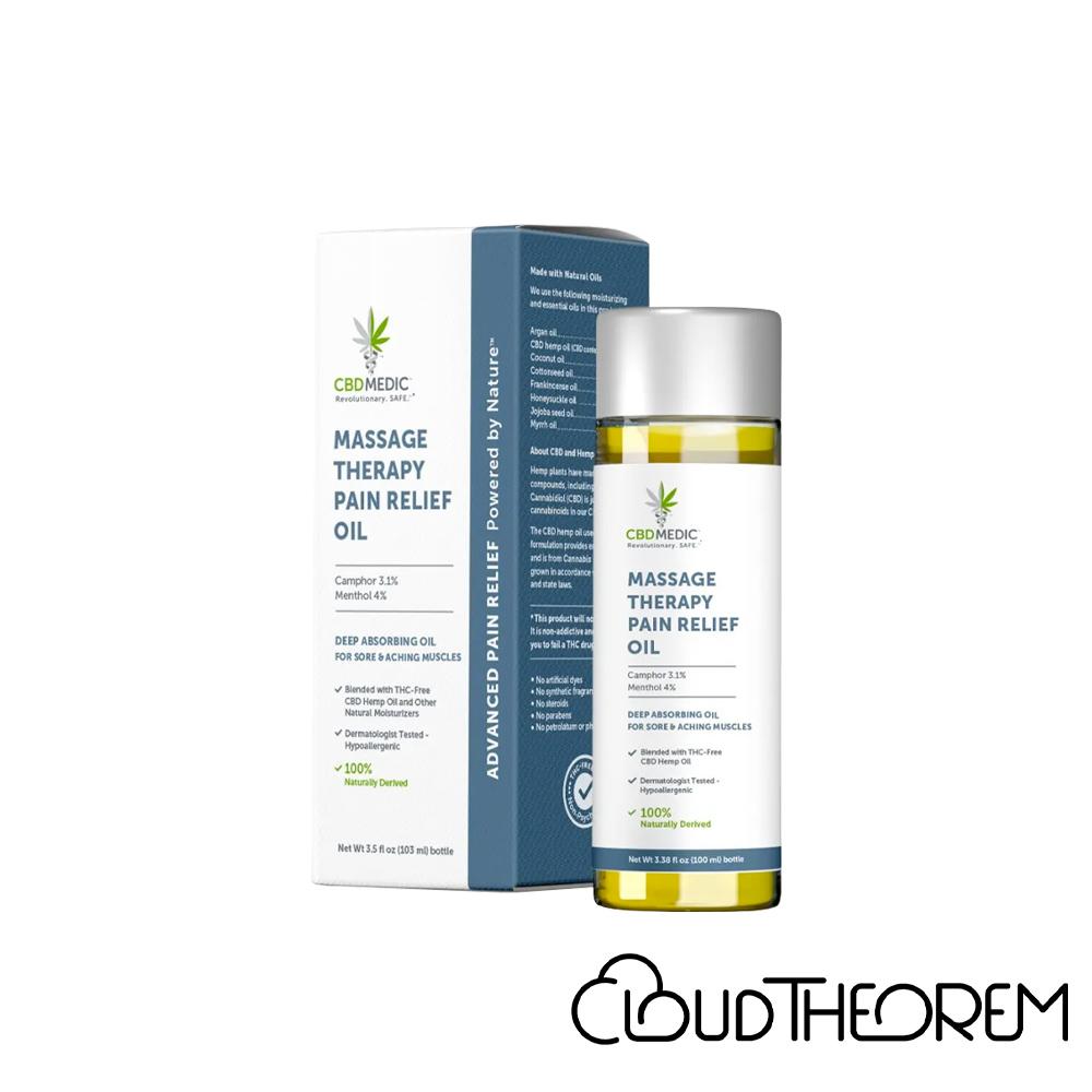 CBDMEDIC CBD Topical Massage Therapy Pain Relief Oil Lab Report