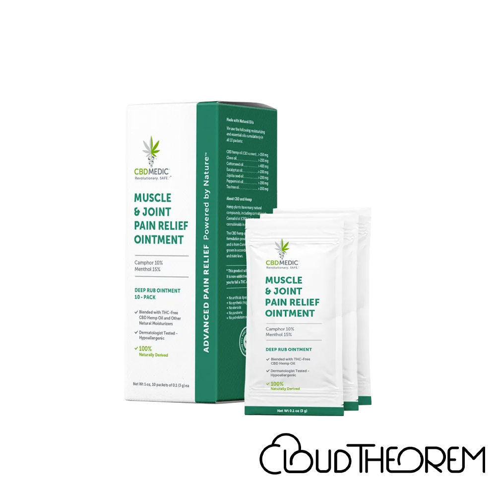 CBDMEDIC CBD Topical Muscle & Joint Pain Relief Ointment Lab Report