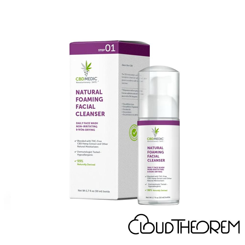 CBDMEDIC CBD Topical Natural Foaming Facial Cleanser Lab Report