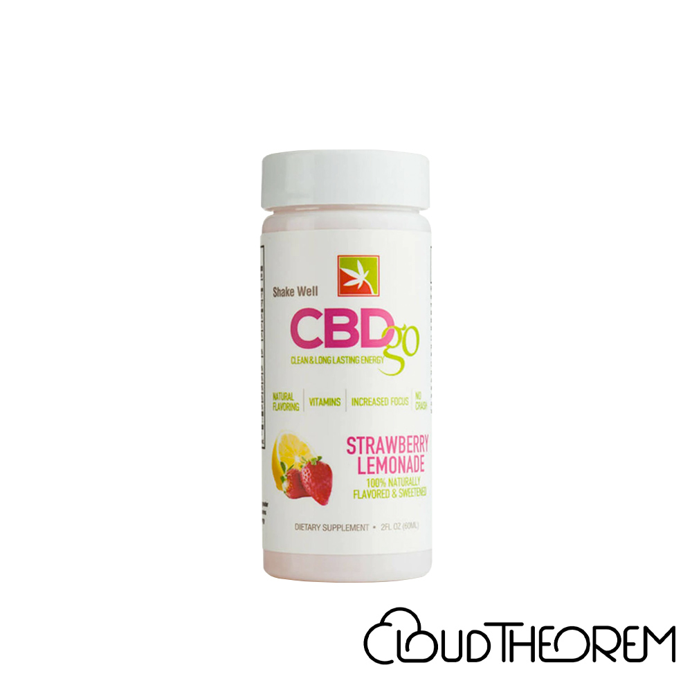 CBDgo CBD Drink Day Time Strawberry Lemonade Lab Report