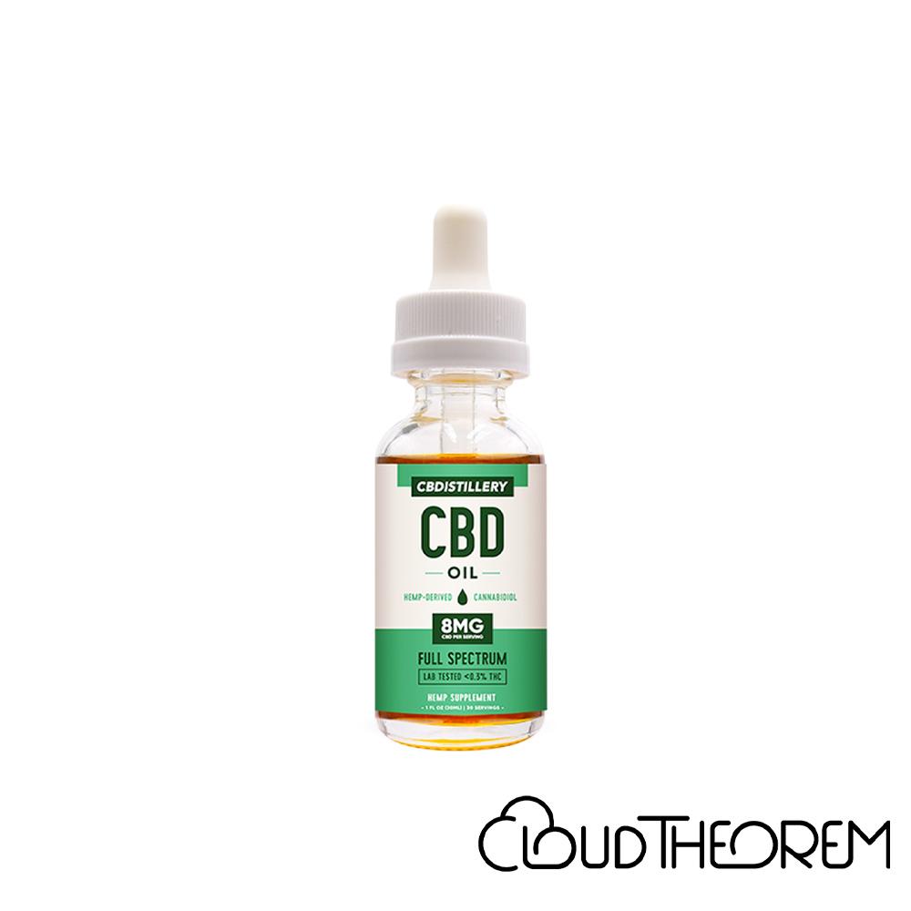 CBDistillery CBD Tincture Full Spectrum Lab Report