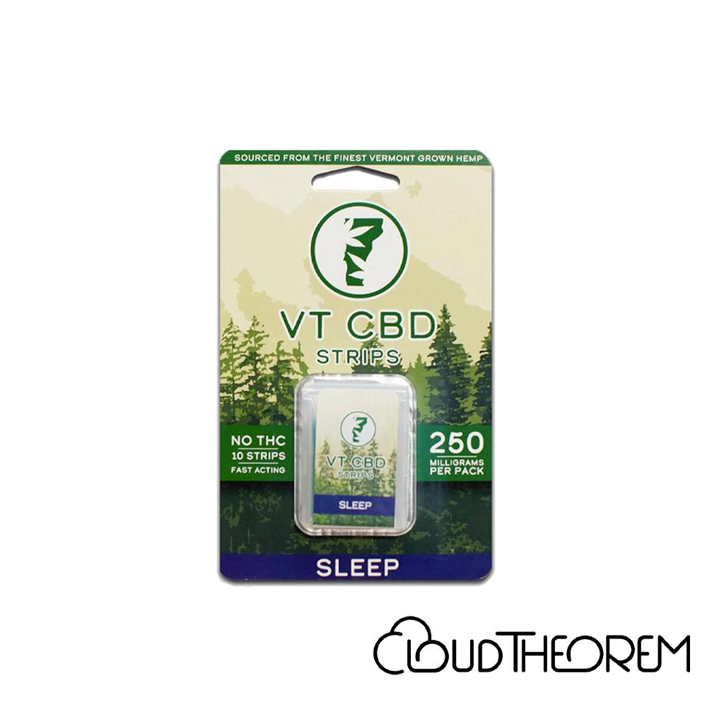 VT-CBD Goods CBD Edible Berry Sleep Strips Lab Report