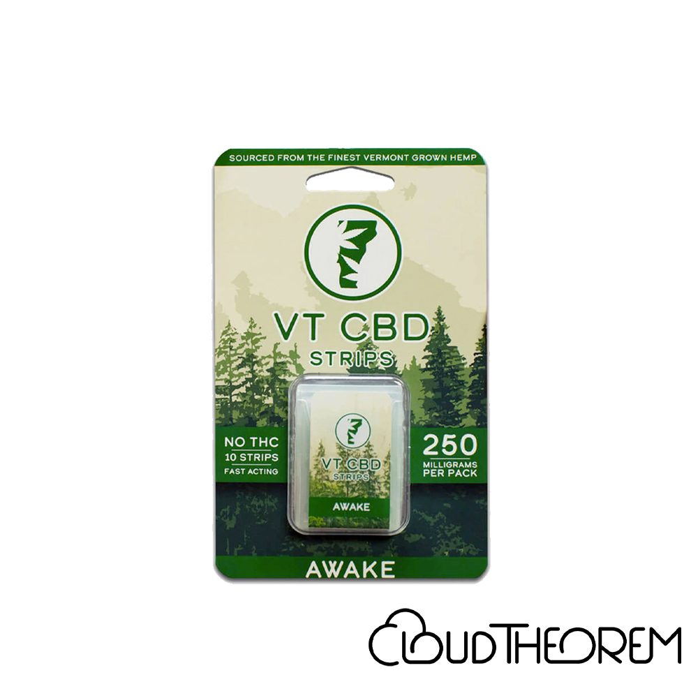 VT-CBD Goods CBD Edible Spearmint Awake Strips Lab Report