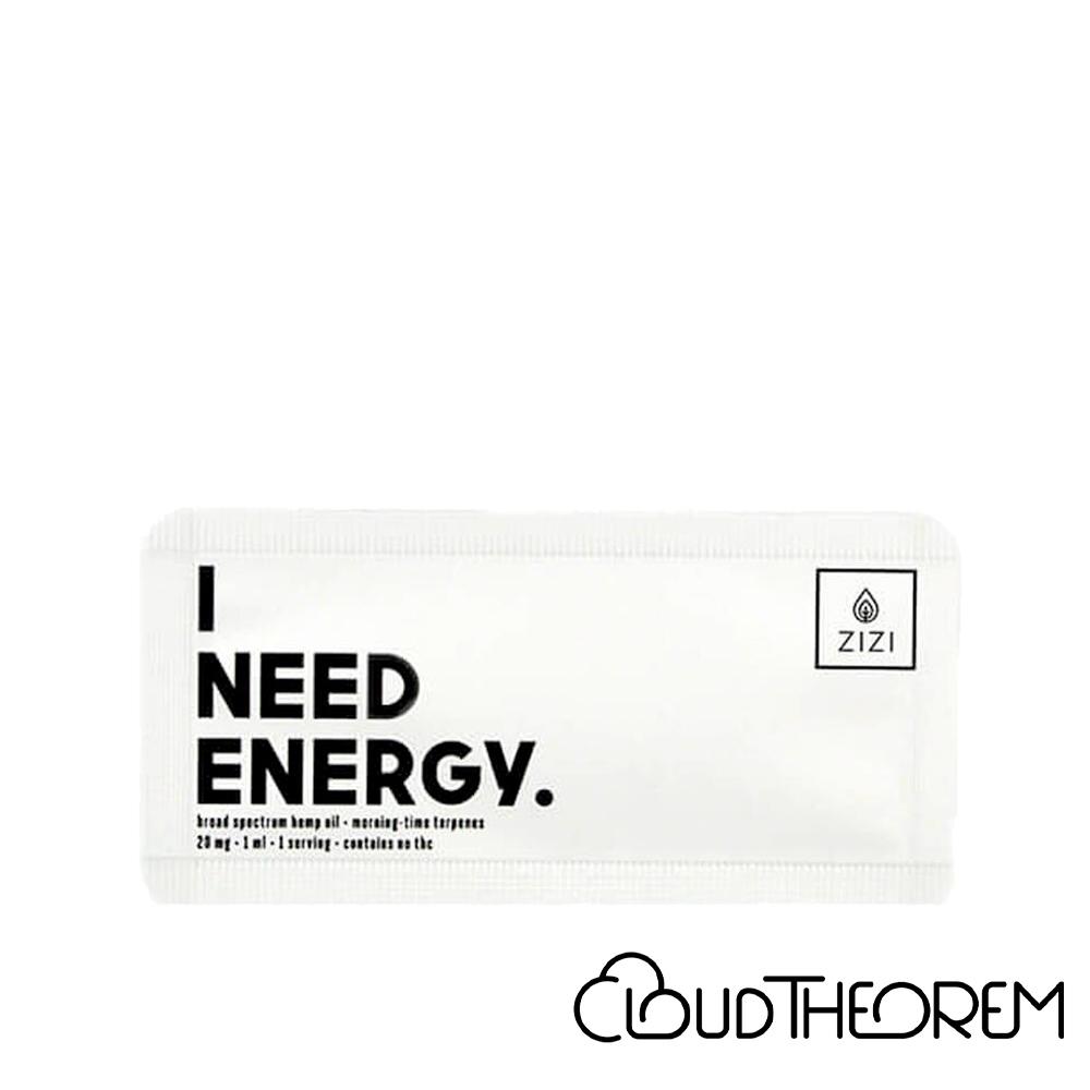 ZIZI Snaps CBD Tincture I Need Energy Snap Lab Report