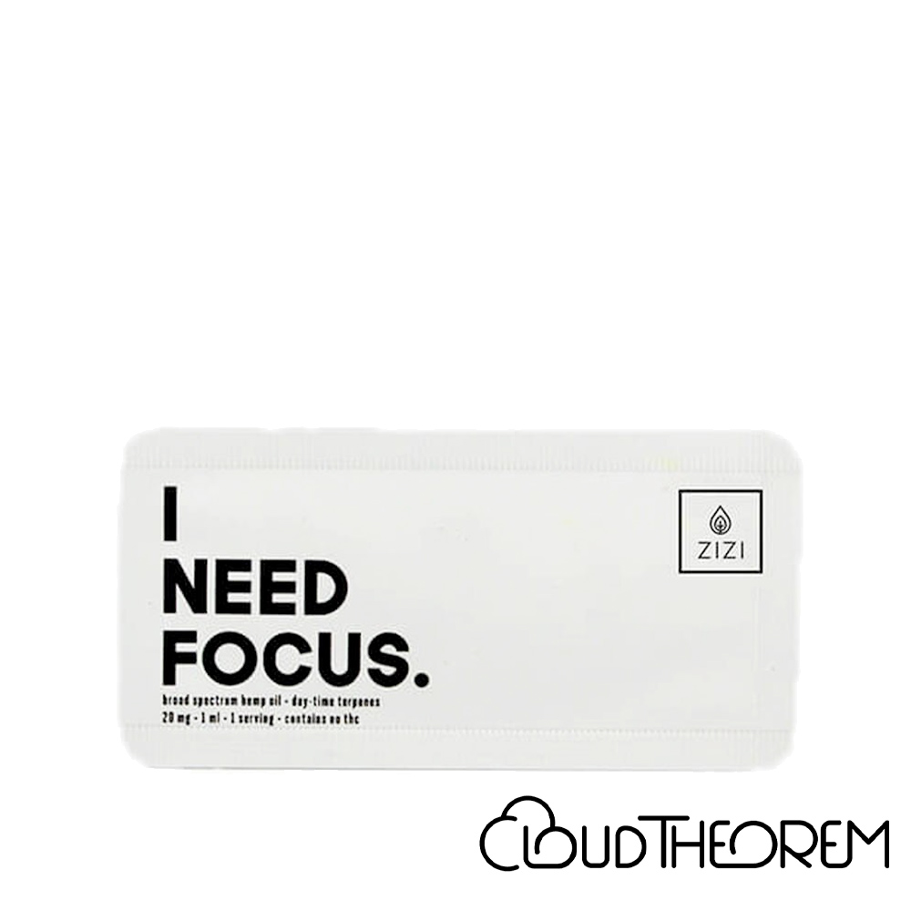 ZIZI Snaps CBD Tincture I Need Focus Snap Lab Report