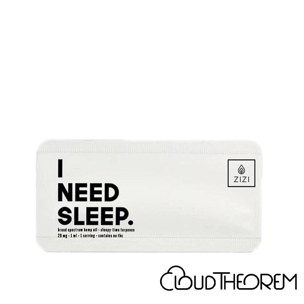 ZIZI Snaps CBD Tincture I Need Sleep Snap Lab Report