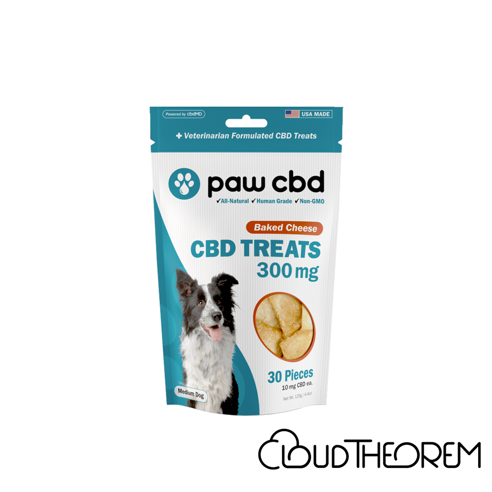 cbdMD CBD Pet Edible Baked Cheese Dog Treats Lab Report